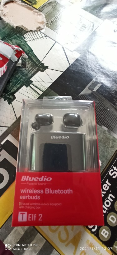 Bluedio T elf 2, Bluetooth Earphone, TWS Wireless Earbuds, Waterproof, Sports Headset, Wireless Earphone, In Ear, Charging Box Phone Earphones & Headphones    - AliExpress