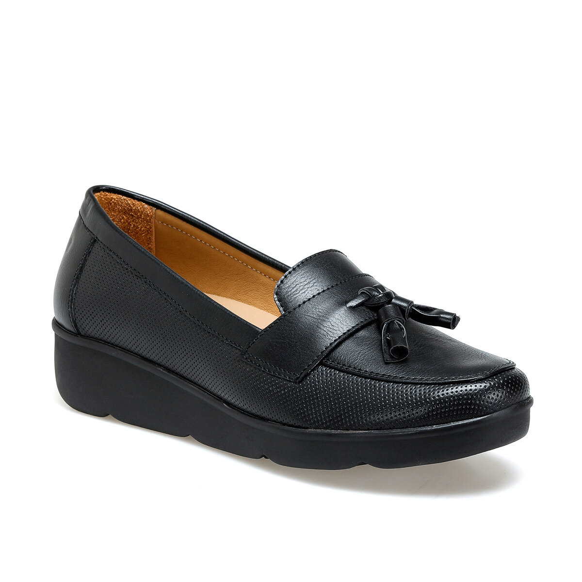 FLO 103055.Z Black Women Shoes Polaris 5 Point