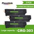 Plavetink 3PCS CRG 303 Zwart Compatible Toner Cartridge voor Canon CRG-303 LBP-2900 LBP2900 LBP-3000 Printer Laser Cartridges