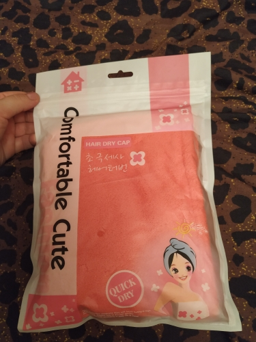 Comfy Quick Dry Hair Wrap photo review