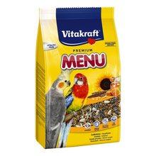 Корм для птиц VITAKRAFT MENU для средних попугаев 1кг