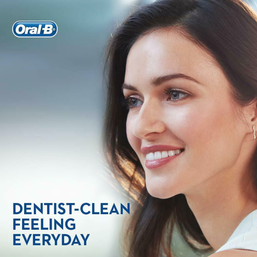 Oral-B D150 Vitality Black Cross Action Electric Toothbrush Kit Powered by Braun, Rechargeable Cleaner Machine, +1 Extra Head