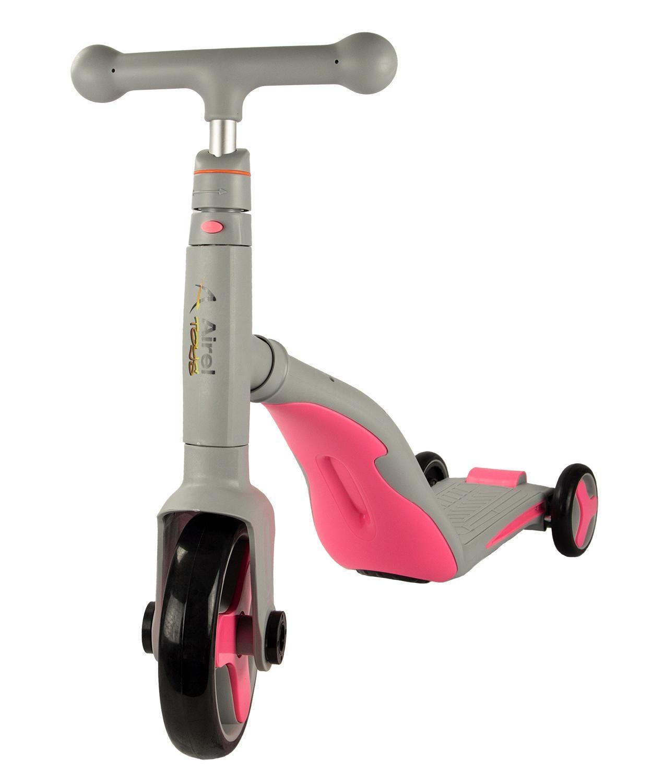 Airel's 3 In 1 | Scooter Scooter 3 Wheel Castors | Scooter Reversible | Scooter 3 In 1 | Ride Bike Children