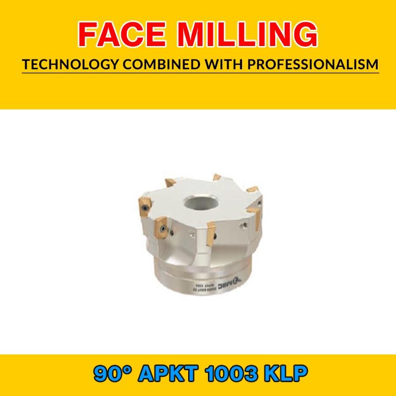 TK APKT 10 001 KLP FACE MILLING EM90 40X5 016 APKT 1003