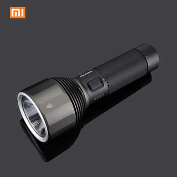 Xiaomi Youpin NexTool Rechargeable Flashlight 2000lm 380m 5 Modes IPX7 Waterproof LED light Type-C Seaching Torch for Camping