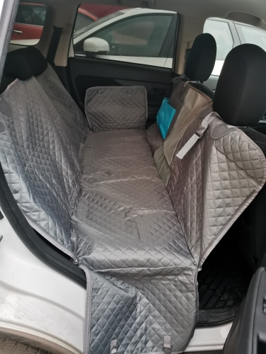 Waterproof Dog Car Seat Cover Hammock With Zipper And Pockets photo review