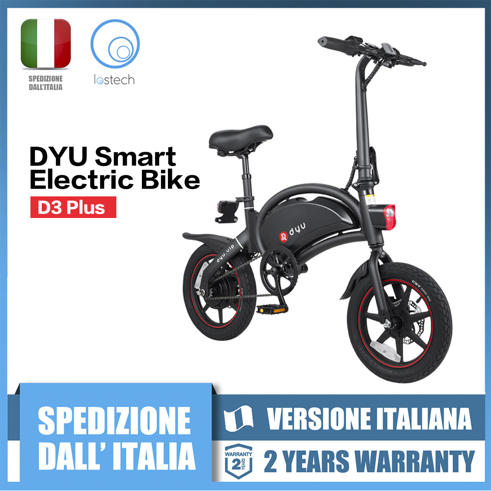 F-rad DYU Smart Elektrische Bike E-Roller Roller D3 Plus