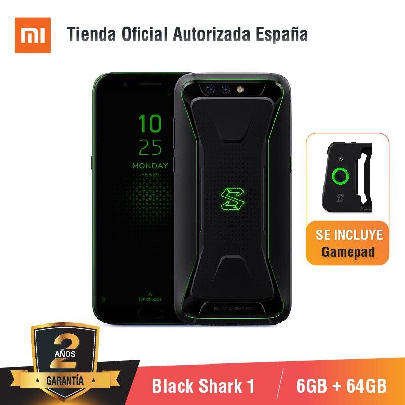 [Versión Global para España] Xiaomi Black requin 1 (mémoire de 64 go, 6 go de RAM, 4,000 mAh, 20MP caméra frontale)