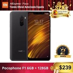 [[Phiên Bản Toàn Cầu Cho Tây Ban Nha]] Xiaomi Pocophone F1 (Memoria Interna De 128 GB, RAM De 6 GB, Camara Dual De 12MP + 5MP, Snapdragon 845)