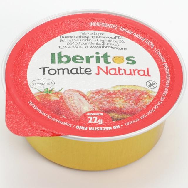 IBERITOS-bandeau de 18, monodose de Tomate de 23 g