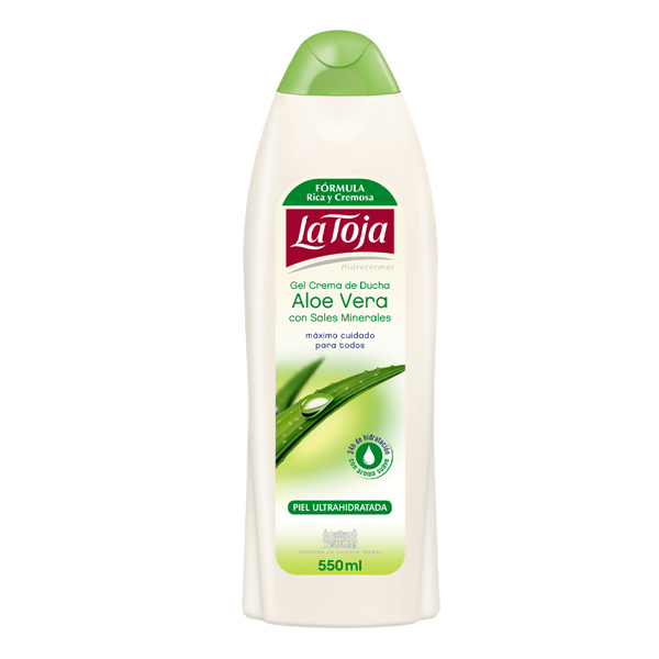 Shower Gel Hidrotermal Aloe Vera La Toja (550 Ml)