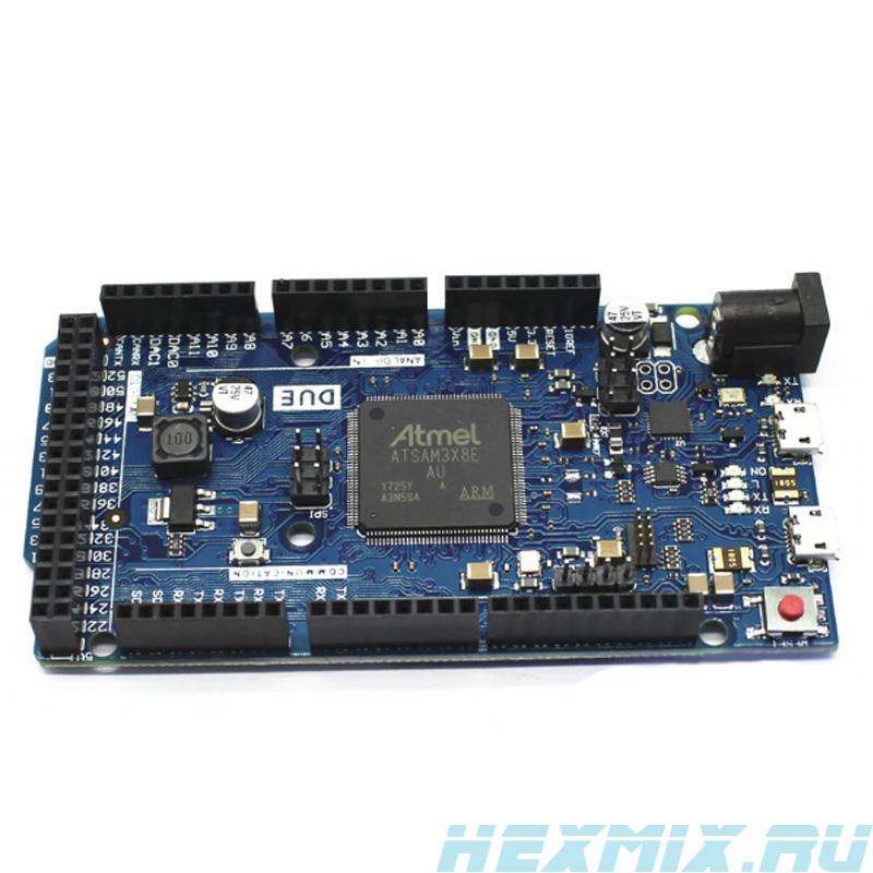 Due Atmel Sam3x8e ARM Cortex-M3 Arduino Compatible Board