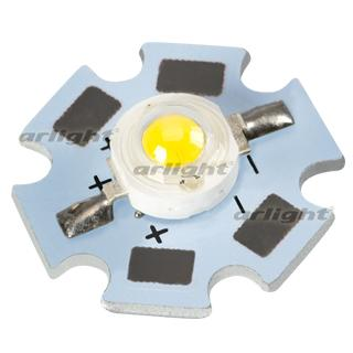 019589 High Power LED ARPL-Star-1W-EPS33 White ARLIGHT 70-шт