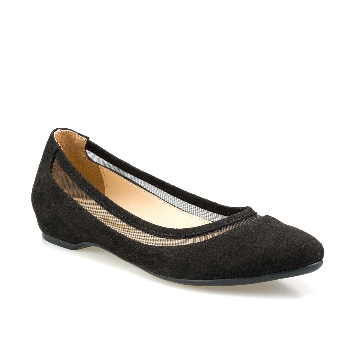 FLO 315013.Z Black Women Ballerina Polaris