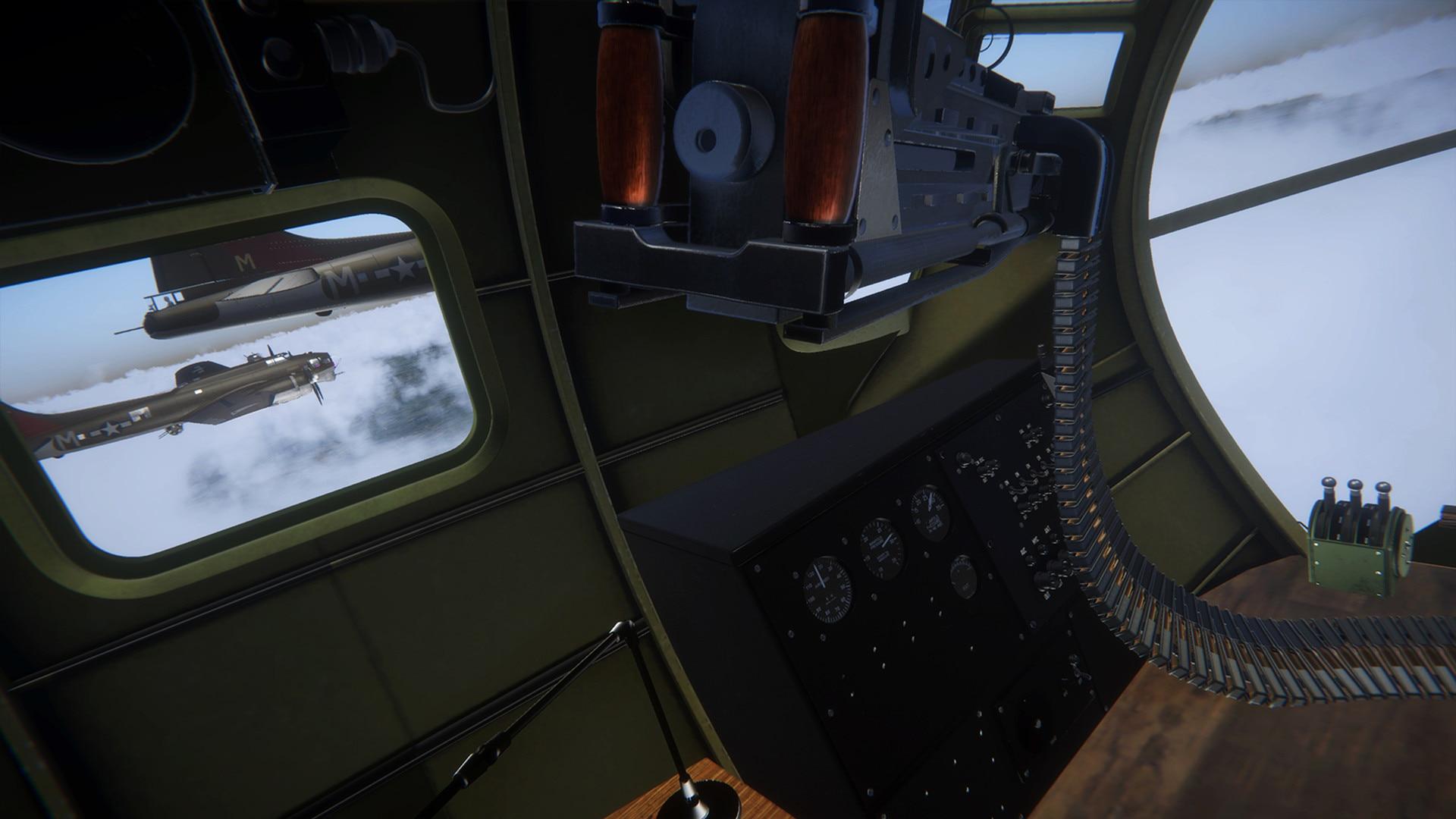 轰炸机模拟游戏《B-17中队》确认登陆steam平台