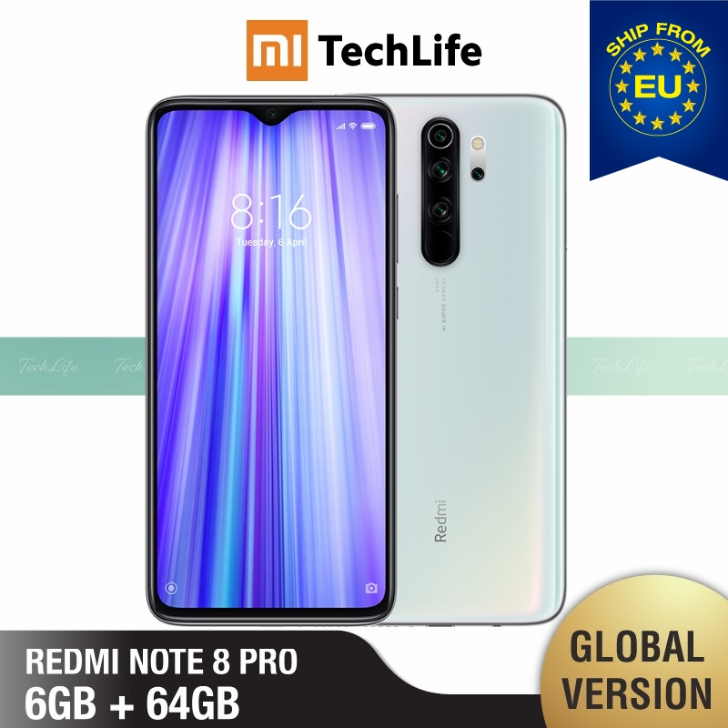 Global Version Xiaomi Note 8 Pro 64GB ROM 6GB RAM (Brand New / Sealed) Note 8 Pro, Note8pro, Note8