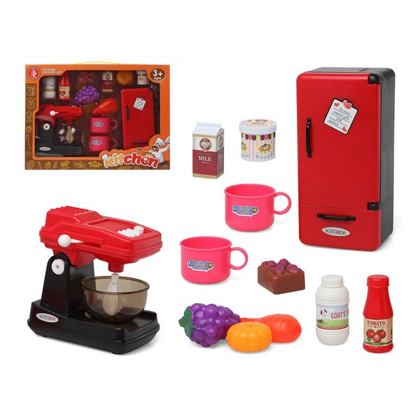 Kitchen Set Red 118651