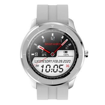 RUNDOING T6 Full touch round screen smart watch for men IP68 Waterproof  Blood pressure oxygen smartwatch for women 7