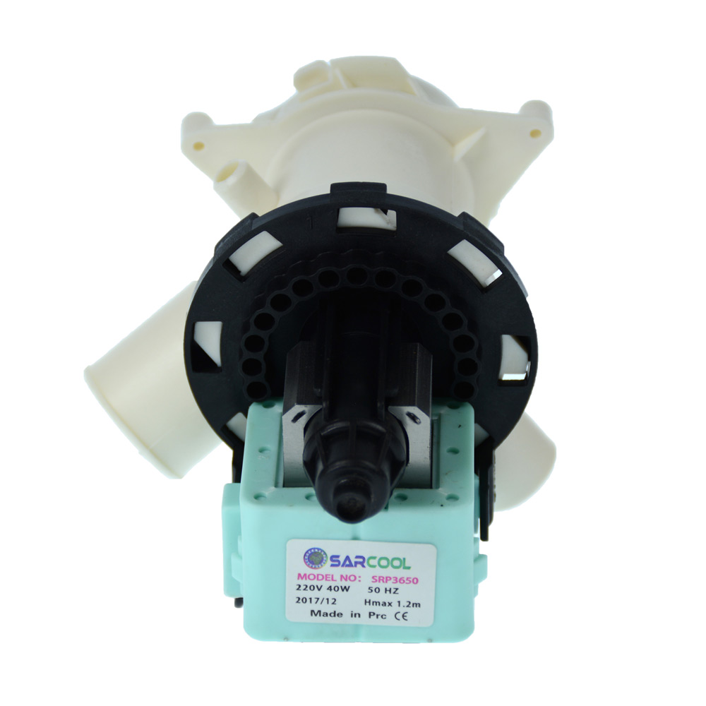 Beko WM5140W WM5120S WM6111W WM5100S WM500W Pompa di Drenaggio Lavatrice