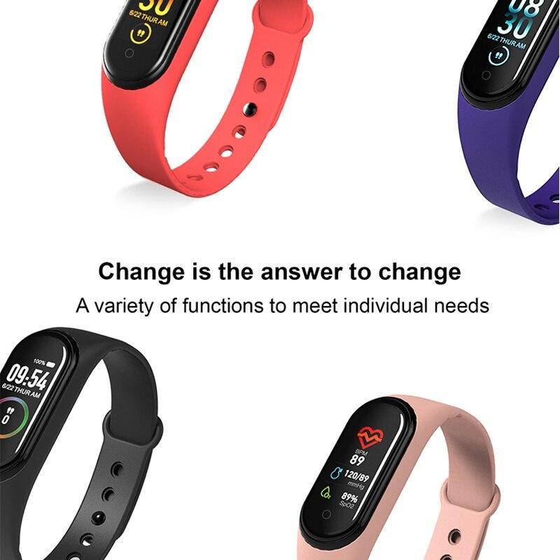 Ub12702165e334bbcaa328b44b71d7769r Wipe Out Virus M4 Smart band 4 Fitness Tracker Watch Sport bracelet Heart Rate Blood Pressure Smartband Monitor Health Wristband