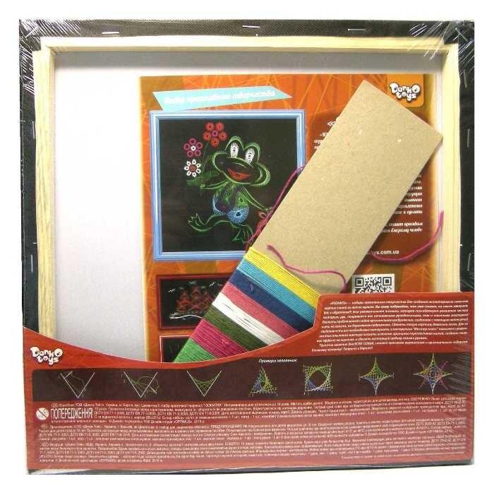 Isonite frog, set for creative creativity Danko-toys