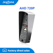 Jeatone 720P/Ahd Mini Camera Video Deurtelefoon Deurbel Ir Camera Hoge Resolutie Camera IP65 Waterdicht Met regenhoes