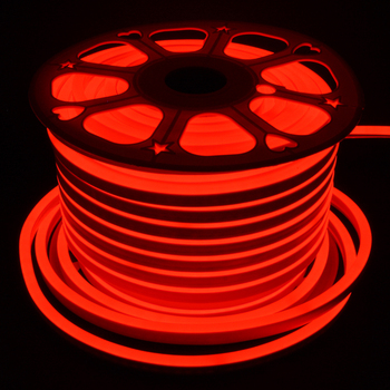 Flexible round 50 m D-14.5mm 220 V red