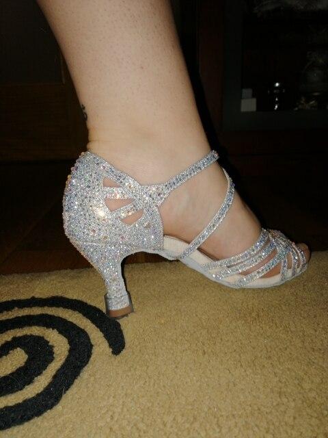 Sapatos de dança Centímetros Ballroom Sapatos