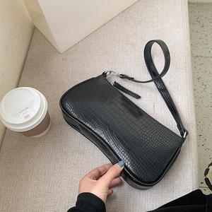 Женские сумки-мессенджеры в стиле ретро с рисунком аллигатора, новые сумки на плечо из искусственной кожи, повседневные однотонные сумки че...