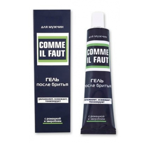 Comme Il Faut, After Shave Gel In Tube/F