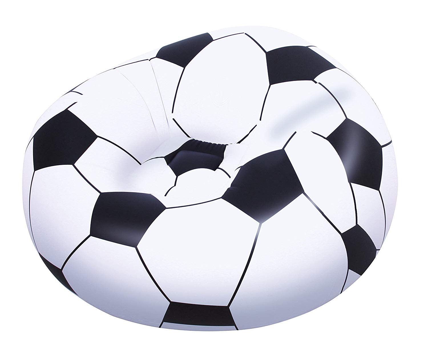 Bestway-Puff Inflatable Armchair Soccer Ball, 114 Cm X 112 Cm X 71 Cm-75010B