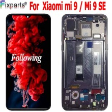 New Amoled LCD for Xiaomi Mi 9 LCD Display Touch Screen Digitizer Assembly Replacement Parts Mi9 Display for Xiaomi Mi 9 SE LCD