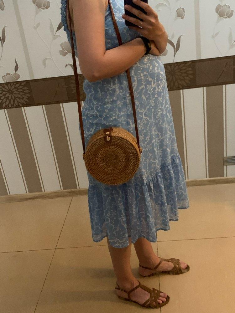 Bali Island Hand Woven Bag Round Bag buckle Rattan  Straw Bags Satchel Wind Bohemia Beach Circle Bag|straw bag|woven bagcircle bag - AliExpress
