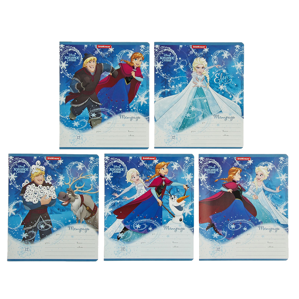 Notebook frozen 12 sheets cage