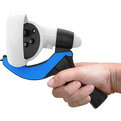 Oculus Quest 2 터치 컨트롤러 용 탁구 패들 그립 핸들 11 개의 탁구 VR 게임 재생