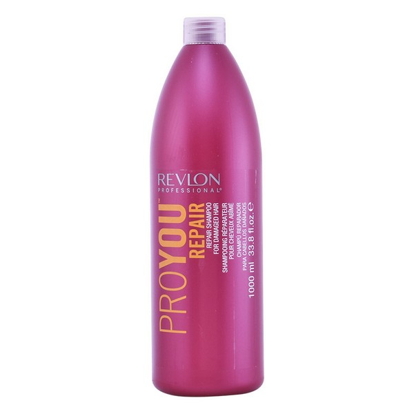 Restorative Shampoo Proyou Revlon (1000 Ml) Damaged Hair