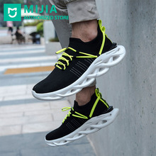 Xiaomi HYBER Men Casual Shoes Sneakers Sports Arc Damping Flying Woven Jogging Running Non-Slip