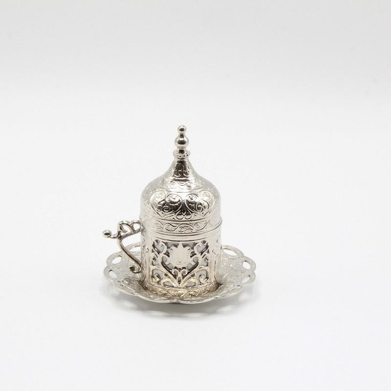 1 Pcs Copper Ottoman Turkish Coffee Cups Set Made in Turkey Arabic Coffee Set Tea Cups Set Espresso Cups Traditional Turkish