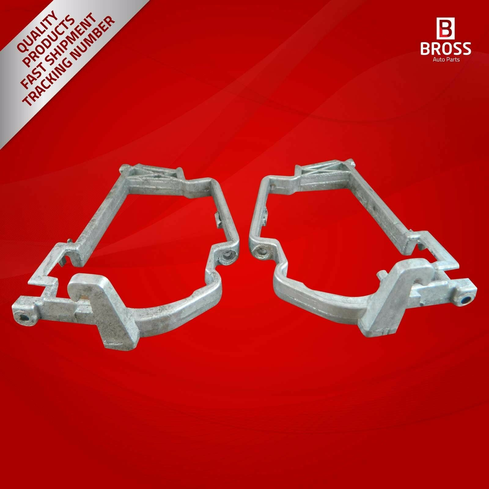 Bross BDP502 Side Mirror Glass Repair Kit For  E-Class W210 Left And Right