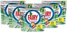 Fairy platinum plus 110 lava-louças cápsula detergente, 22x5