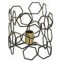 Настольная лампа алюминиевая (19X19x24 см)