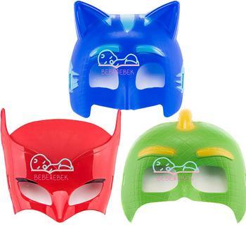 3 Pijamaskeliler Pj Masks Pj Masks 3 Color Face Masks