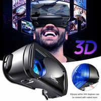 Original VRG Pro 3D VR Glasses Virtual Reality Glasses Box Stereo VR Google Helmet For 5 to 7 inch Smartphone Eyeglasses Devices