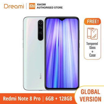 Global Version Xiaomi Redmi Note 8 PRO 128GB ROM 6GB RAM (LATEST ARRIVAL!!), note8 pro Smartphone Mobile - sale item Mobile Phones
