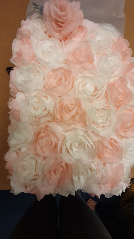 -- Material Vestido Casamento