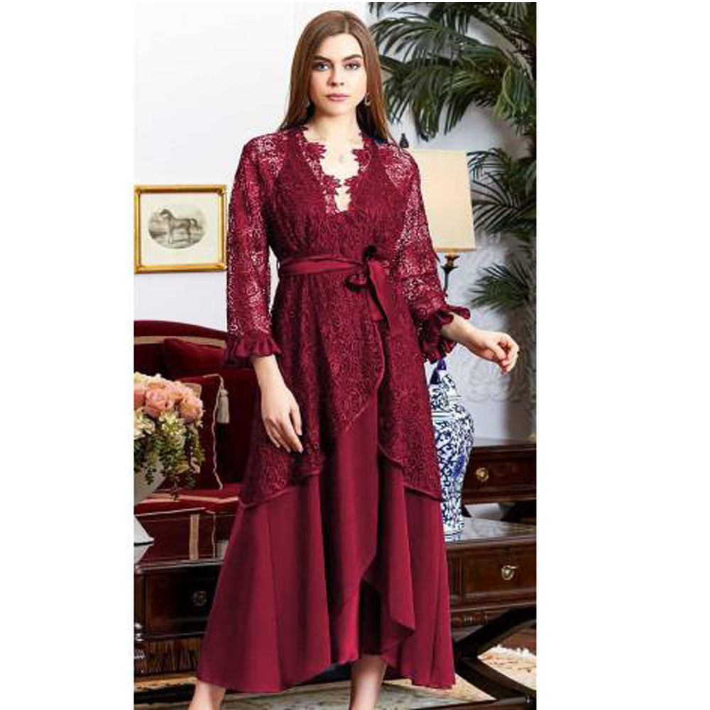 Women Silk Satin Ruched Evde Casual Sleep Nightgown Dressing Gown Pajamas Set Ruched Long Hex Set Suit 920