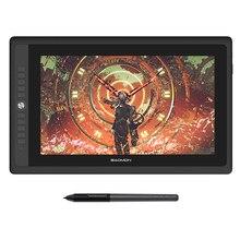 Gaomon pd156pro gráficos tablet display para desenho 15.6 full tela ips hd completo laminado com 8192 níveis caneta sem bateria
