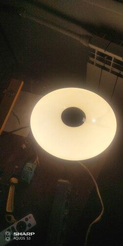 Luzes de teto Lâmpada Controle Remoto