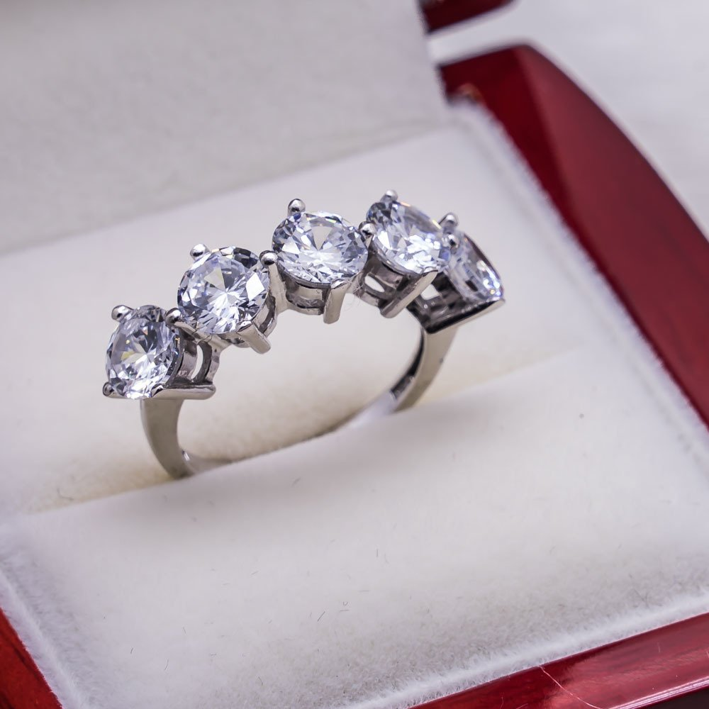 925 sterling Silver Dibs Lady Ring Model 17()