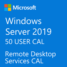 Windows Server 2019 RDS 50 User Digital Licence KEY - Online Delivery in maximum 5 minutes